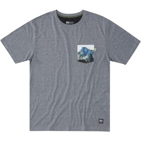Hippy Tree Muir T-paita Miehet, heather grey